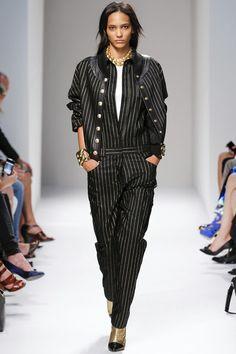 BALMAIN - LE DÉFILÉ PRINTEMPS-ÉTÉ 2014 – FASHION WEEK OF PARIS. http://fashionblogofmedoki.blogspot.be/