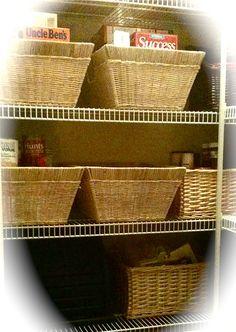 My organized pantry.   http://RaquelEnglish.com