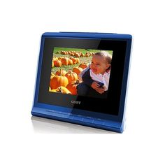 Recording digital picture frame 1 6gb Audio Recording Devices, Digital Photo Album, Spice Things Up, Picture Frame, Alarm Clock, Desk, Touch, Business, Photos