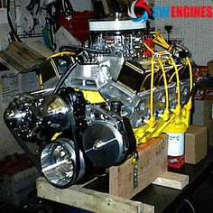 Crate Engines Muscle Car Engines, Chevy and Ford Performance Engines Used Engines, Race Engines, Chevy Crate Engines, Truck Engine, Hemi Engine, Chevy Motors, Crate Motors, Performance Engines, Automobile