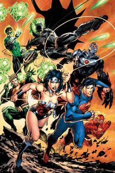 DC Comics Liga Sprawiedliwych Wyzwania - plakat