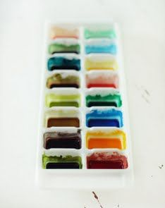 Make Your Own Watercolors: DIY awesomeness