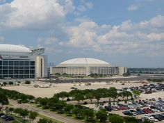 Houston Astrodome - the eighth wonder of the world