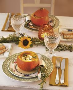Villeroy & Boch French Garden Fleurence Dinnerware - contemporary - Dining Room - New York - Villeroy & Boch Orange Dinnerware, Orange Dinner Plates, Tuscan Dining Rooms, Contemporary Dinnerware, Flute Champagne, Boston, Thanksgiving Tablescapes, Happy Thanksgiving, Holiday Centerpieces