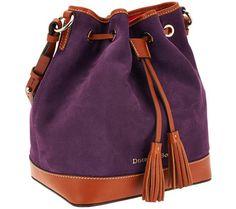Dooney & Bourke Suede Drawstring Bag