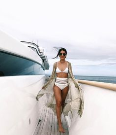WEBSTA @ camilacoelho - Boat Day in the cutest bikini from ☀ ------Segunda boa por aqui! Dia no barco, usando bikini da ☀ Vacation Outfits, Summer Outfits, Pool Outfits, Sports Nautiques, High Waisted Bikini Bottoms, Bikini Tops, Beachwear For Women, Swimsuits, Bikinis