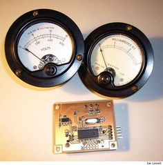 Using Arduino to Drive Analog meters