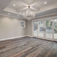 Home refurbishment can completely give a facelift to an otherwise old-looking house. Best Secrets Home Renovation Remodel Your Living Space Ideas. Home Renovation, Home Remodeling, Doors And Floors, The Doors, Grey Flooring, Flooring Ideas, Grey Hardwood Floors, Gray Wood Flooring, Rustic Wood Floors
