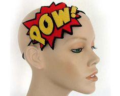 POW Comic Book Headband Roller!!!