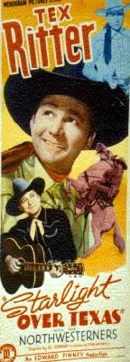 Tex Ritter Movie Poster
