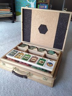 Catan Case Inside | Flickr - Photo Sharing!