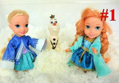 Elsa and Anna Toddlers and Olaf Play together in Snow Annya makes a wish...