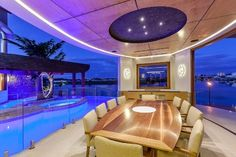 Waterfront House - Pelican Waters - contemporary - dining room - other metro - Christopher Design