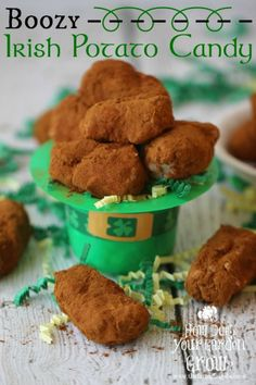These traditional Irish Potatoes are kicked up a with some Bailey's Irish Cream. Get your Irish on and try this delicious Boozy Irish Potato Candy version.
