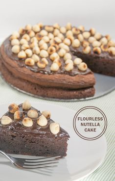 Flourless Nutella Cake | FaveGlutenFreeRecipes.com