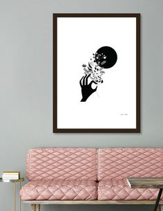 Discover «Moon», Limited Edition Fine Art Print by Ivana Calija - From $29 - Curioos