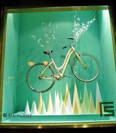 """Nanushka store window Budapest 2013. 