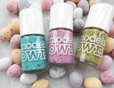 Models Own : Speckled Eggs Collection.