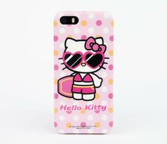HK |❣| HELLO KITTY Shades iPhone 5 Soft Case