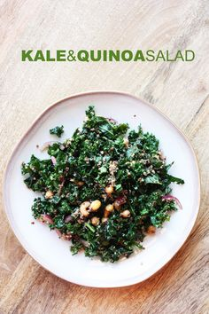 kale & quinoa salad. - Elise Blaha :: enJOY it.