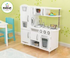 KidKraft  53208 - Weisse Retro Küche