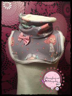 Freebook / kostenlose Nähanleitung für eine handmade Halssocke, Schal für Kinder,