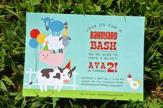 Wades of 108: Ava's Barnyard Bash 2nd Birthday