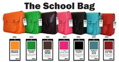The School Bag by Moana Road - just bought the blue one for walking my papers to council!
