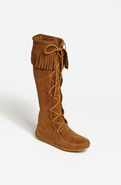 Minnetonka+Lace-Up+Boot+available+at+#Nordstrom