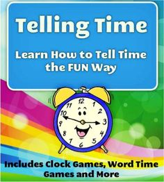 FREE Kids e-Book: Telling Time
