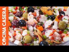 Descubre cómo hacer un rico Salpicón de Marisco casero. Una receta muy fácil como verás en nuestra vídeo receta y sobre todo, exquisita