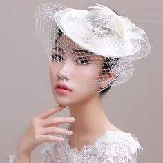 Find More Bridal Hats Information about Free Shipping Vintage Linen khaki Floral Bridal Hats 2015 with Veil Hat wedding Veils Birdcage Wedding Accessories headpiece H5,High Quality hats software,China hat canada Suppliers, Cheap hat headband from LaceBridal on Aliexpress.com