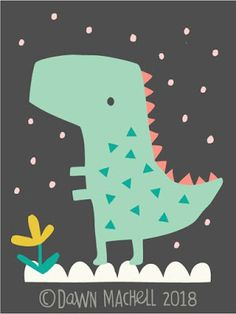 I don't think they even do kid's products. Dinosaur Illustration, Cute Illustration, Dinosaur Wallpaper, Kids Blankets, Book Projects, Dark Ages, T Rex, Art For Kids, Dawn
