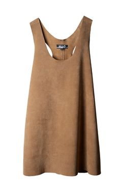 Afterword Suede Racerback Dress omg this is so cool man