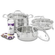 6 Piece Set & Two Bonuses! Princess House tri-ply cookware set. Absolutely phenomenal and beautiful cookware and they are covered by our lifetime warranty. Contact me to order your set today! Ship to your door! www.princesshouse.com/sericson