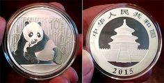 Our Trade Up Game continues with a 2015 1 oz silver panda coin from China! If you'd like it for your collection (or just want to be famous on my site ;)) let me know what you have to trade for it!