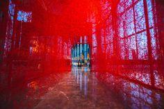 Chiharu Shiota | Instalaciones | Cultura, arte y diseño mexicano | Inkult Magazine