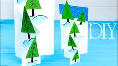 Новогодняя 3D ОТКРЫТКА | Снежный СКЛОН