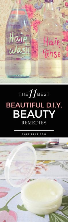 The 11 Best DIY Beauty Remedies