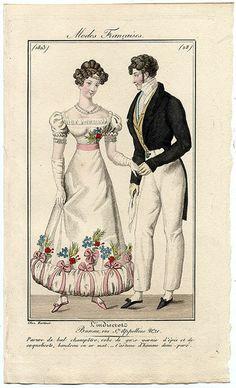 plate 28 - Modes Francaises -- L'Indescret