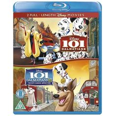 """Enjoy both classic Disney films, 101 Dalmatians and 101 Dalmatians II - """"Patch's London Adventure"""", on Blu-ray. Both of the Disney movies are available Blu Ray Collection, Movie Collection, Disney Films, Disney Cartoons, 101 Dalmatians 2, Pongo And Perdita, 2 Movie, My Favorite Music, London"""