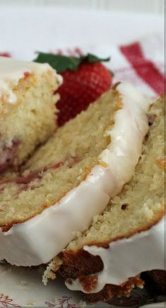 Lemon Strawberry Loaf Cake (1) From: Chocolate Chocolate And More, please visit