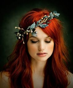 Copper hair ;)
