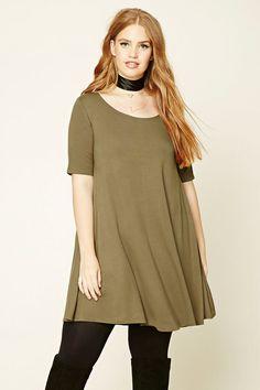 Plus Size T-Shirt Dress   Forever 21 PLUS - 2000232256