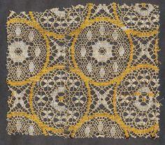 Quaker Lace sample.  Kensington, Philadelphia, PA