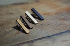 Hey, I found this really awesome Etsy listing at https://www.etsy.com/listing/221936676/wood-tie-clip-handcrafted-groomsmen