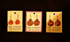 diy earring cards - Google Search