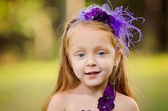 Purple Mist Tutu Dress: Flower Girl, Birthday, Wedding, Photo Prop., Purple, Hydrangeas, Satin Ribbon, Velvet Ribbon