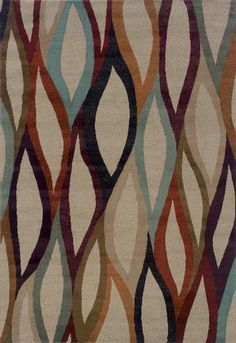 The new Adrienne collection from Oriental Weavers is machine-woven of 100% polypropylene, incorporating high-twist and two-tone yarns to add interesting surface texture,. The designs are bursting with