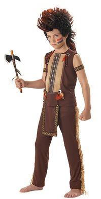 Indian Warrior Costume - Children's Indian Costume
